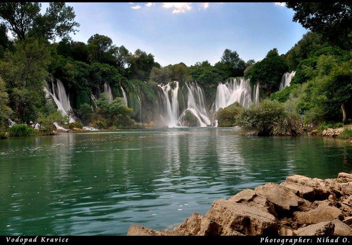 Kravice : lac et parc naturel de chutes en Bosnie-Herzégovine 14