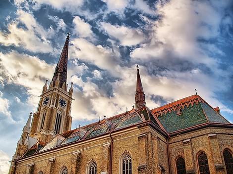 Cathédrale Novi Sad (Serbie) Crédit source : www.novisad.org