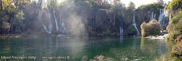 Kravice : lac et parc naturel de chutes en Bosnie-Herzégovine 8