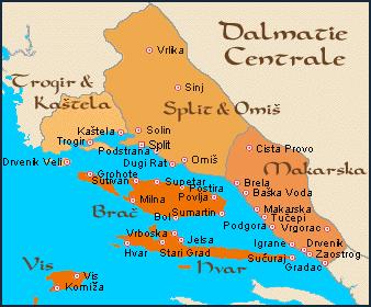Makarska et riviera de Makarska, l'une des plus belles de Dalmatie (Tourisme Croatie) 2
