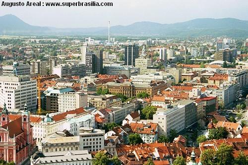 ljubljana ville moderne slovenie