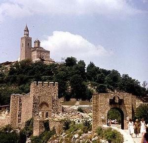 Veliko Tarnovo ; ancienne capitale de Bulgarie centrale 1