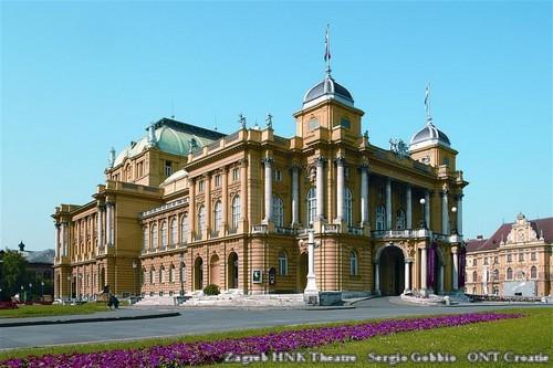 Zagreb HNK Theatre - Sergio Gobbio - ONT Croatie