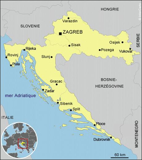 Visiter la croatie en une semaine: itinéraires en Croatie