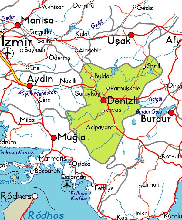 Pamukkale, Hiérapolis, les thermes et les sources chaudes (région de Denizli) 1
