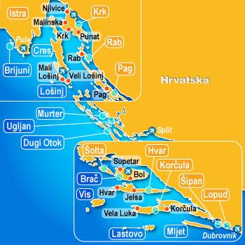 iles croatie vacances hvar
