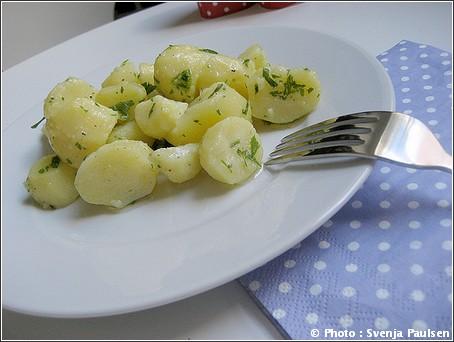 Kartoffelsalat salade de pommes de terre allemande