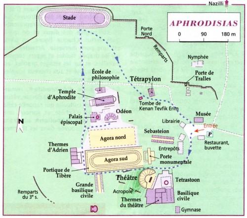 Aphrodisias, l'un des plus beaux sites archéologiques en Turquie 1