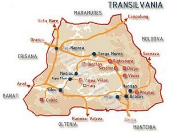 Villages Saxons de Transylvanie ; une portée d'entrée en Roumanie 1