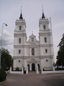 La cathédrale catholique de Daugavpils