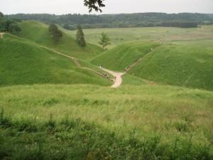 Les collines de Kernavé
