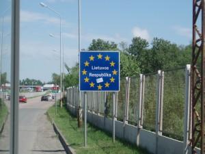 Une frontière au sein de l'Union européenne, comme les autres ...