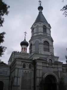 La cathédrale orthodoxe de Ventspils