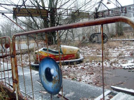 Tchernobyl Pripyat autotamponeuse