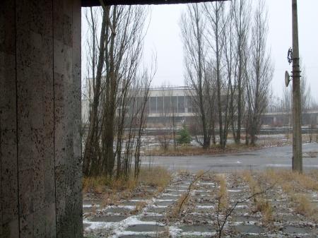 Tchernobyl Pripyat batiment officiel