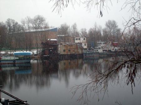 Tchernobyl Pripyat flotte contaminée
