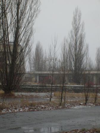 Tchernobyl Pripyat grande roue