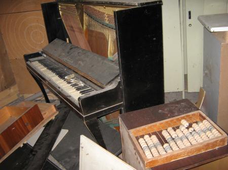 Tchernobyl Pripyat  instruments