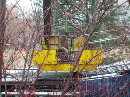 Tchernobyl Pripyat nacelle grande roue