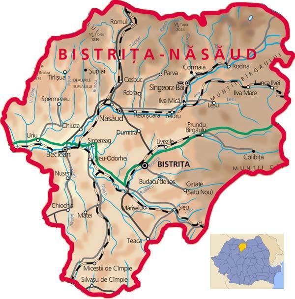 Bistrita Nàsàud et le Massif de Bârgàu : idéal pour le tourisme rural 4