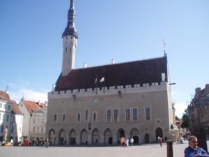 L'Hôtel de Ville de Tallinn