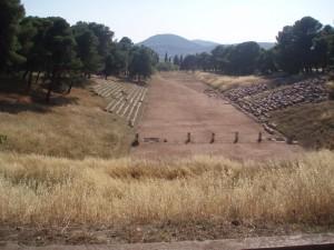 ... qui résonnera jusqu'au stade d'Epidaure