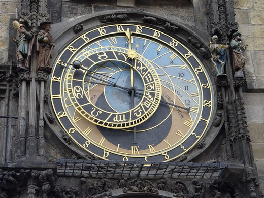 Guide Prague : L'horloge astronomique 1