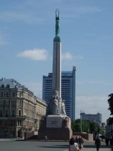 Monument de la Liberté à Riga