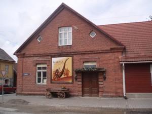 Voru : maison près de l'église sainte-Catherine