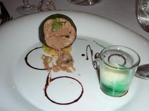 dessert restaurant la bergerie d'aragon