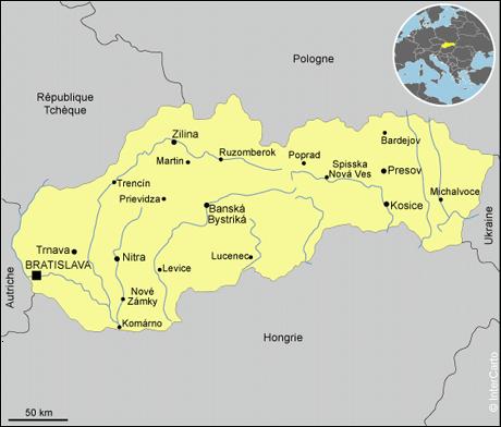slovaquie-carte