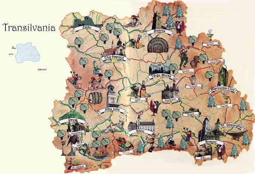 Cliquez sur la carte pour l'agrandir - Crédit photo : http://www.ciaoromania.com