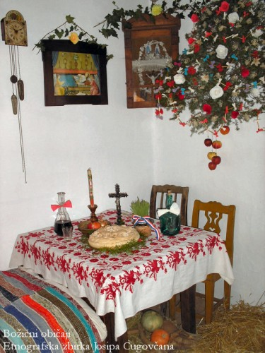 badjnak3 375x500 Traditions du Noël serbe orthodoxe