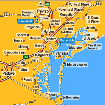 Carte Italie Burano.Iles De La Lagune De Venise De Murano A Torcello Et Burano