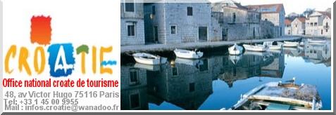 office du tourisme croatie
