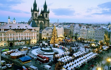 NOUVEL AN A PRAGUE