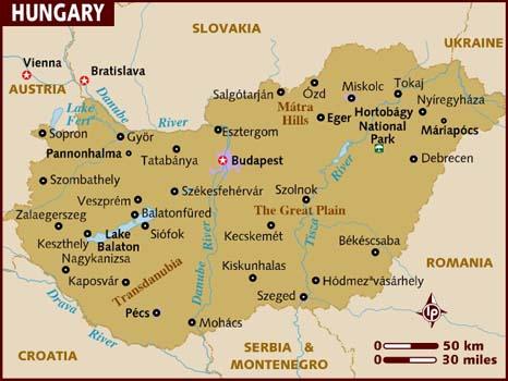 Hongrie_map