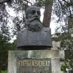 roumanie Chateau statue Hasdeu