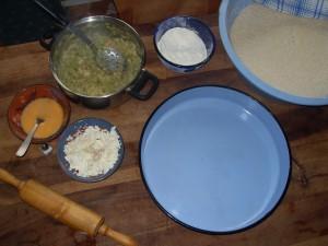 Banjce ou zelnik aux légumes (Recette macédonienne) 2
