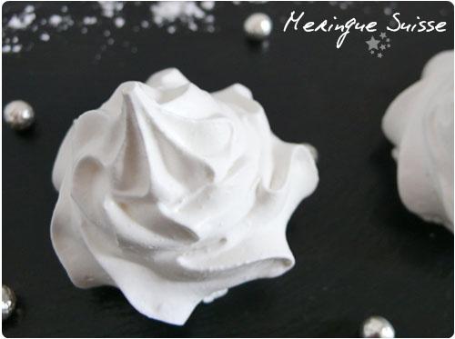 meringue suisse recette cuisine suisse