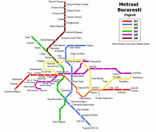 Le métro de Bucarest 2