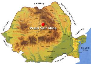 Saline de Praid (Transylvanie) ; l'une des plus grandes en Europe 4
