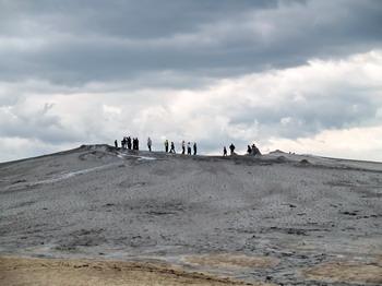 Les volcans de boue de Pâclele (Vulcanii Noroiosi)  dans la région de Buzau 2