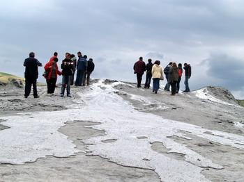 Les volcans de boue de Pâclele (Vulcanii Noroiosi)  dans la région de Buzau 4
