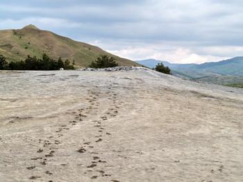 Les volcans de boue de Pâclele (Vulcanii Noroiosi)  dans la région de Buzau 6
