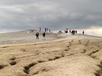 Les volcans de boue de Pâclele (Vulcanii Noroiosi)  dans la région de Buzau 9