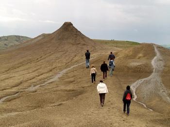 Les volcans de boue de Pâclele (Vulcanii Noroiosi)  dans la région de Buzau 11