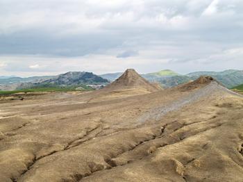 Les volcans de boue de Pâclele (Vulcanii Noroiosi)  dans la région de Buzau 13