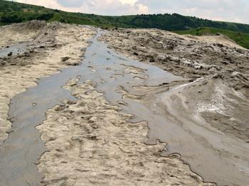 Les volcans de boue de Pâclele (Vulcanii Noroiosi)  dans la région de Buzau 15