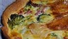 Quiche brie et brocolis (Recette française) 1